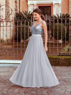 Schlichte Brautjungfernkleider Lang Günstig | Kleider für Brautjungfern Online