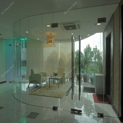 Commercial Swing Door Glass