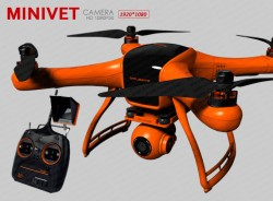 MINIVET X380-Fashion Drones with 1080P camera