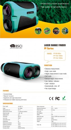 Golf Rangefinder_index-MileSeey Laser Distance Meter