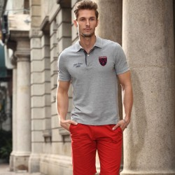 turn-down POLO T Shirt