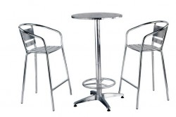 Aluminium Table & Chair