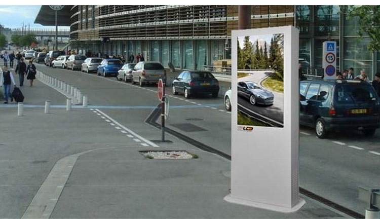 42″ Outdoor Touch Screen LCD Digital Signage Display