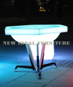 Table with LED light