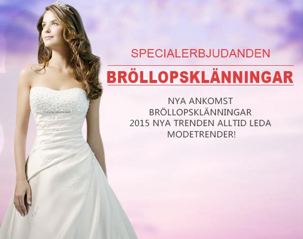 Balklänningar, Bröllopsklänningar, Festklänningar 2015/2016 Online