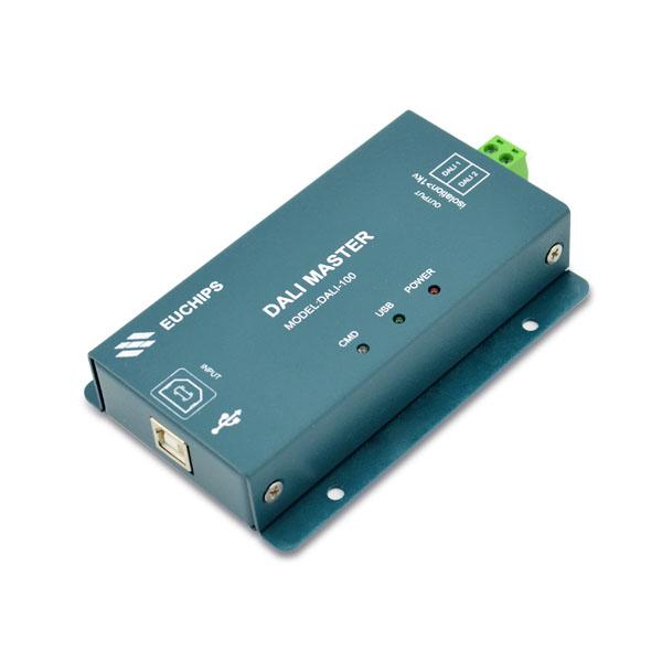 DALI-100 5VDC 250mA*1CH DALI Master Controller