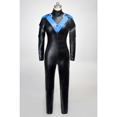 alicestyless.com is selling Batman Young Justice Nightwing Cosplay Costumes Female Version
