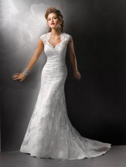 Spetsar Tyll Bröllopsklänningar Online