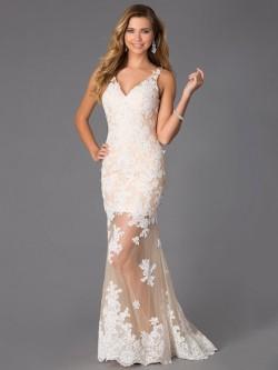 White Prom Dresses, Formal Dresses in White – dressfashion.co.uk