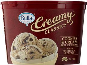 Bulla Creamy Classics Ice Cream