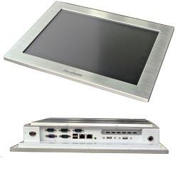 "15"" industrial fanless Panel PC"