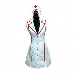 Alicestyless.com League of Legends Nurse Akali Cosplay Costume