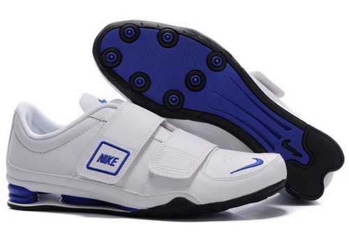 Men's Nike Shox R3 Shoes White/Blue/Black H8LE4E,Shox,Jordans For Sale,Jordans For Cheap,N ...