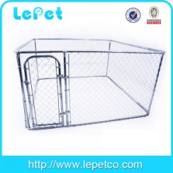 hot sale galvanize tube dog boarding kennel