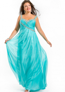 US$158.99 2015 Straps Chiffon Floor Length Zipper Crystals Ruched Sleeveless