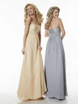 US$135.99 2016 Zipper Chiffon Gray Sweetheart Sleeveless Ruched Champagne A-line Floor Length