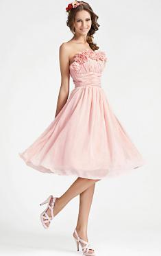 Abendkleider Kurz, Rosa Abendkleider , kurze Frauen für Frauen