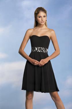 US$132.99 2015 Zipper Up Sweetheart Black Sleeveless Chiffon Short