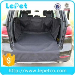 Dog travelling accessory factory wholesale deluxe waterproof quilted dog travel cargo liner