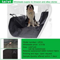 Dog seat cover hammock car hammock for dogs oxford non slip