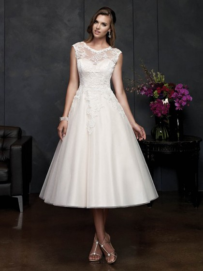 Flattering Plus Size Wedding Dresses UK – dressfashion.co.uk