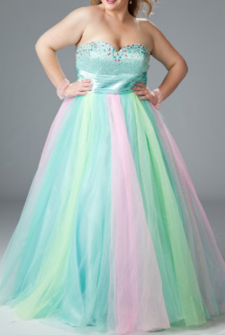 US$167.99 2015 Sweetheart Crystals Lace Up Tulle Floor Length Sleeveless Ruched