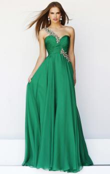 Green Formal Dresses- Turquoise, Hunter Dresses Collection