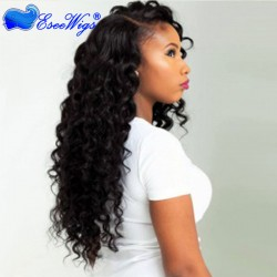 360 Lace Wigs 180% Density Deep Wave Full Lace Human Hair Wigs Human Hair Wigs
