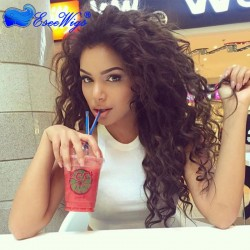 250% High Density Lace Font Wigs for Black Women Loose Wave Glueless Full Lace Wigs Human Hair w ...