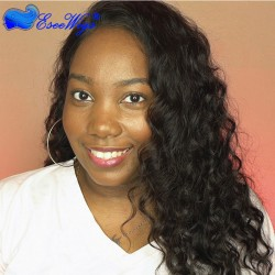 360 Lace Wigs Loose Wave Brazilian Full Lace Wigs 180% Density for Black Women Human Hair Wigs