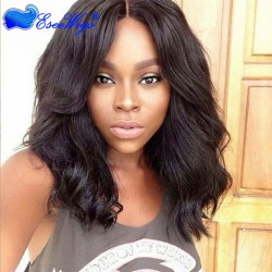 Cute Short Wig 250% High Density Glueless Full Lace Wigs Human Hair with Baby Hair for Black Women