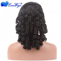 Full Lace Wigs Chinese Virgin Hair Spiral Curl