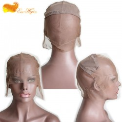 Full Lace Wig Cap For Making Wgis Brown Color High Quality