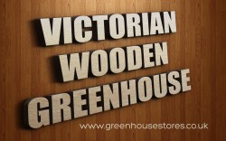 Victorian Wooden Greenhouse