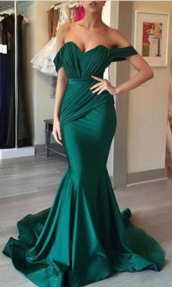 Türkische Abendkleider Lang Günstig Meerjungfrau Abendmoden Abiballkleider Online