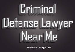 Criminal Defense Lawyer Near Me