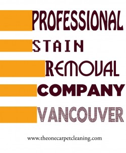 Professional Stain Removal Company Vancouver