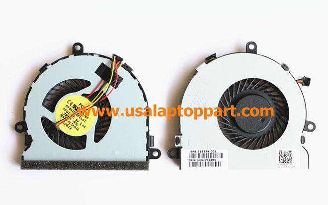HP 14-R100 Series Laptop Fan 753894-001 [HP 14-R100 Series Laptop Fan] – $21.99