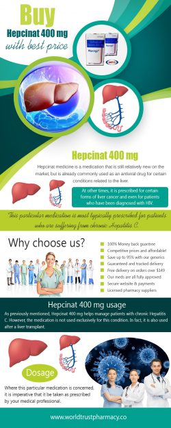 Buy Hepcinat 400 mg With Best Price
