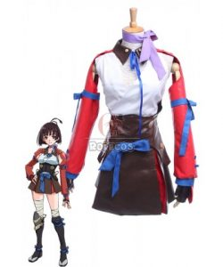 Buy Kabaneri of the Iron Fortress Mumei Battle Female Full Set Cosplay Costumes – RoleCosp ...