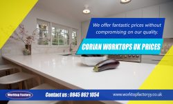 Corian Worktops UK Prices