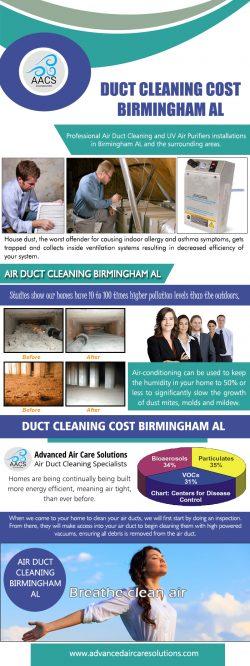 Duct Cleaning Cost Birmingham AL