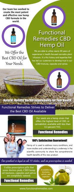 Functional Remedies CBD Hemp Oil