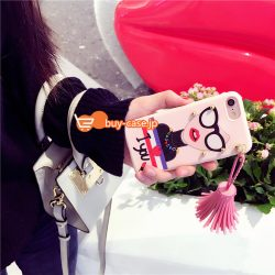iphone8/7s/6 ケース レディース韓国リベット付きフリンジお洒落ブランド風女神セレブ7/7sアイフォン6s ...