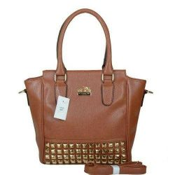Coach In Signature Medium Coffee Luggage Bag Outlet coach-outlet2018.com