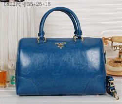 2018 Prada Saffiano Leather Wallet 0512 In Cornflower Blue discountpradahandbags.name
