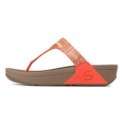Fitflop Aztek Chada Women Sandals Orange Outlet Store