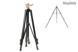 metal pulsating water sprinkler on telescopic tripod