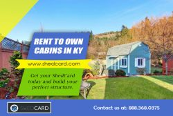 Rent To Own Cabins Ohio