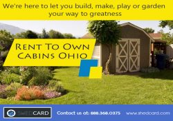 Finished Portable Cabins Rent To Own In KY